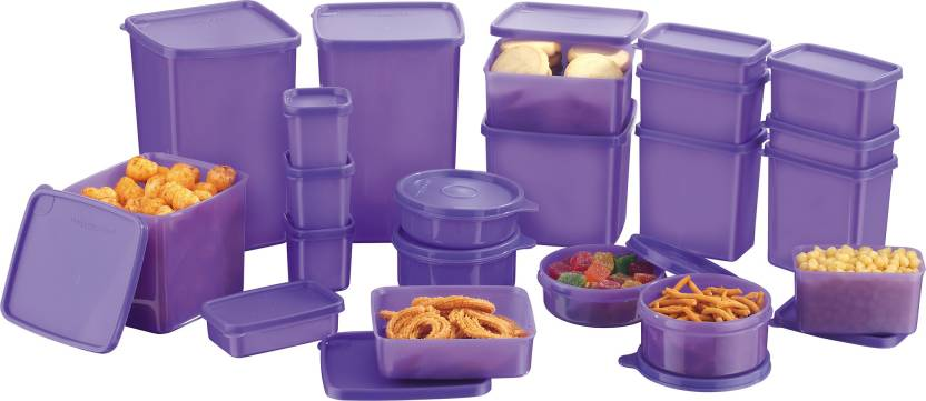 Mastercook Combo Packs - 7170 ml PP Grocery Container Pack of 18