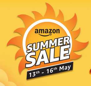 Aamzon - Summer Sale From 13th to 16th May 10% Cashback With ICICI Cards & AmazonPay Balance