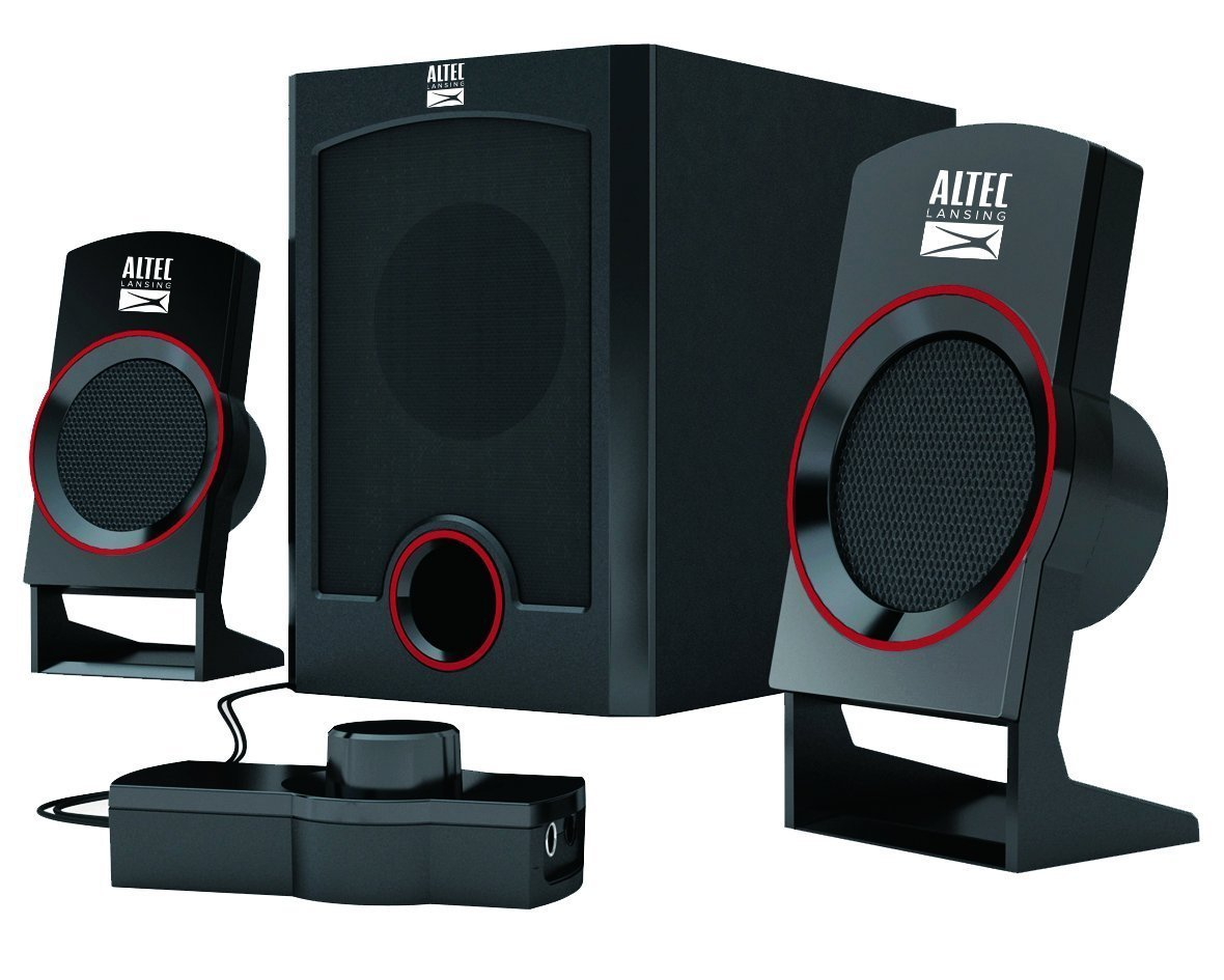Altec Lansing Circus AL-SND313M 2.1 Channel Home Audio Speakers