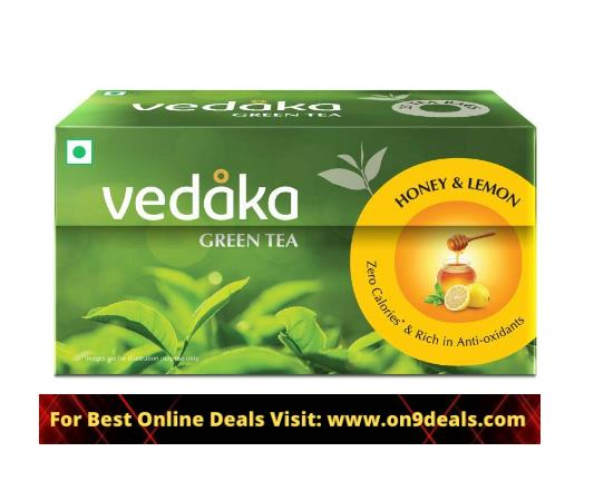 Amazon Brand Vedaka Green Tea @ 50% Discount Starting From Rs.70
