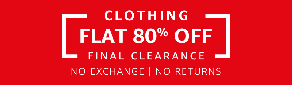 Amazon - Fashion Clearance Sale Upto 80% Discount