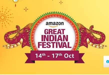 Amazon -  Great Indian Festival Sale + 10% Cashback With SBI Cards