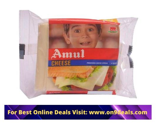 Amul Cheese - Slices, 750 g Pouch