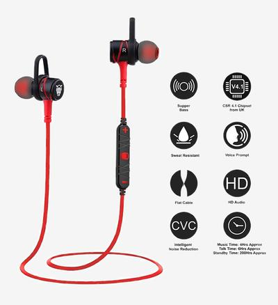 Ant Audio H56 Bluetooth Headset with Mic