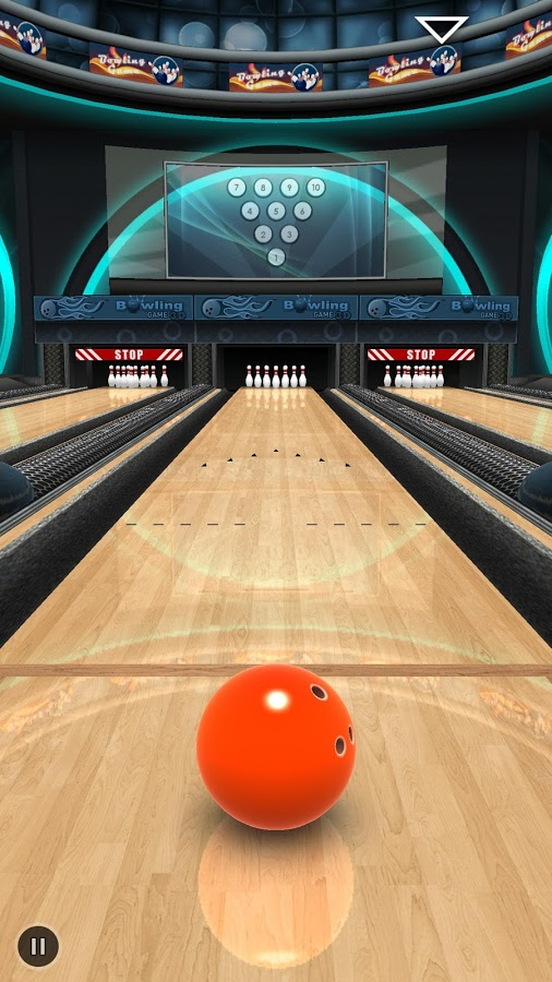 Bowling Game 3D Game Worth Rs.99 Now Free