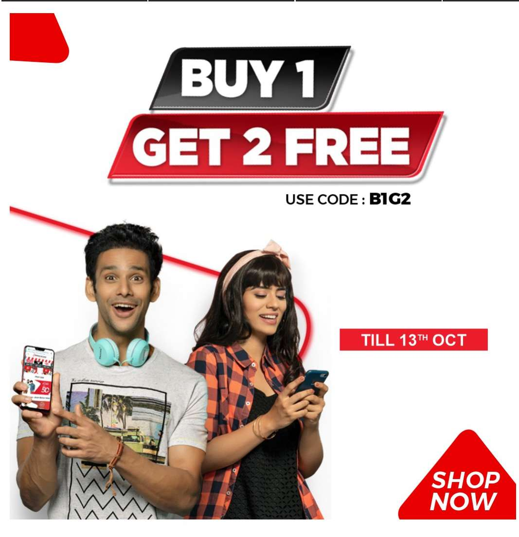 BrandFactoryOnline Top Brand Clothes Buy 1 Get 2 Free + Free Shipping