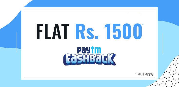 Coolwinks Flat Rs.1500 Paytm Cashback On Minimum Order Amount Rs.1500