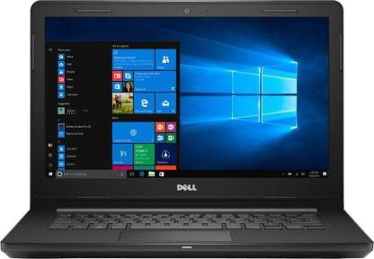 Dell Inspiron 14 3000 Series Core i3 7th Gen 4 GB 1 TB HDD Windows 10 14 Inch  Laptop