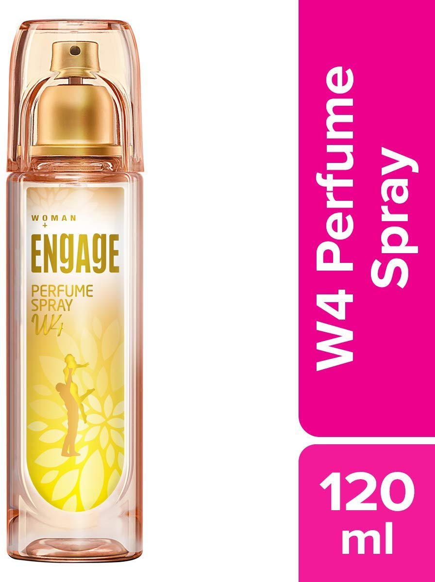 Engage W4 Perfume Spray, 120ml
