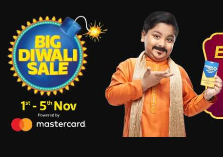 Flipkart -  Big Diwali Sale + 10% Discount With HDFC Cards