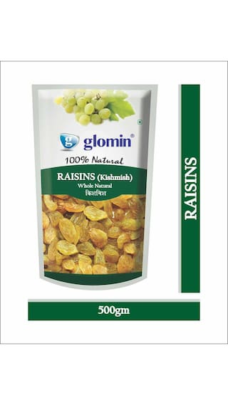 Glomin Raisins 500Gms 1Pc Only For Rs.131 After 70% Cashback