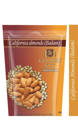 Golden Nut Almonds 200Gms 1Pc X 2 @ Rs.236 After Cashback