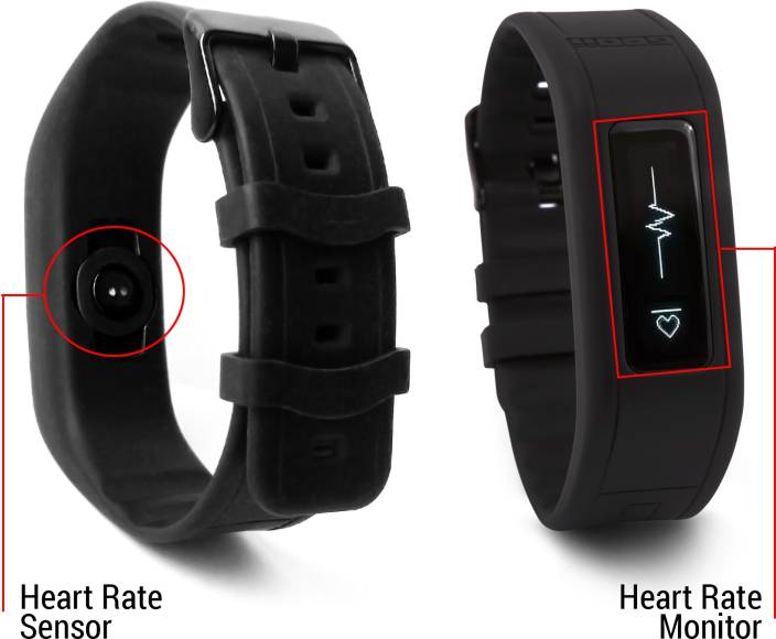 GOQii HR Fitness Tracker With Heart Rate Monitor Water Resistant