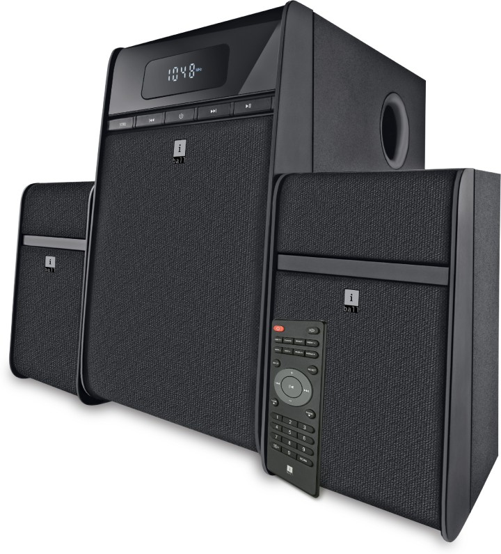 iBall Tarang Classic 40 W Bluetooth Home Theatre(Black, 2.1 Channel)