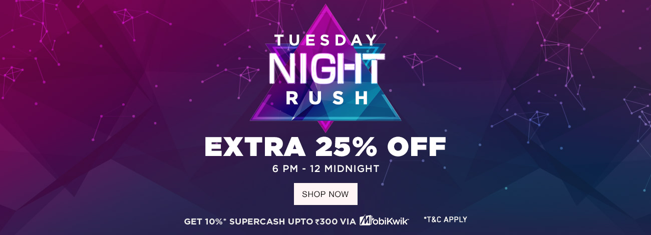 Jabong - Flash Sale Upto 60% off + Extra 25% OFF Only For Today