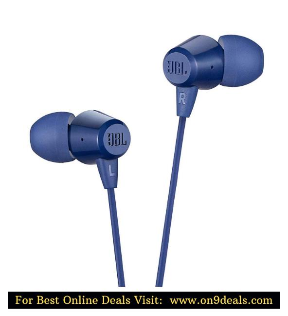 JBL C50HI in-Ear Headphones with Mic