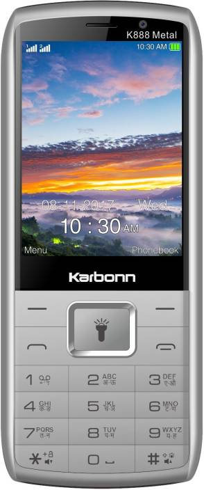 Karbonn K888 Metal Wireless FM with Recording ,3000 mAh long lasting battery