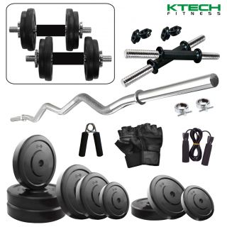 Ktech 20Kg Combo 3-Wb Home Gym