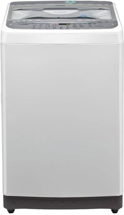 LG 6.5 kg Fully Automatic Top Load Washing Machine White
