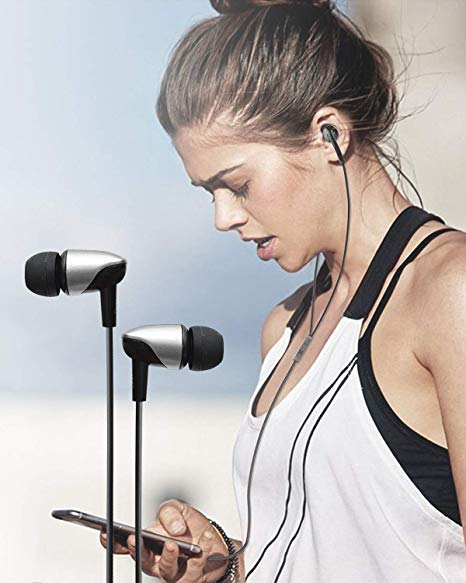 Marley Hudson® Wired Earphones with Mic and in-Line Remote