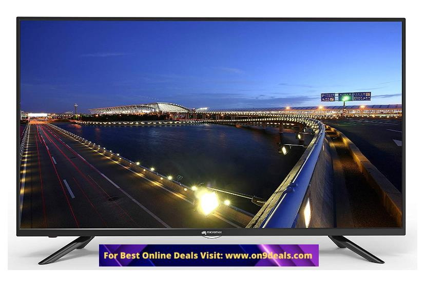 Micromax 102 cm (40 inches) Full HD LED TV 40R7227FHD @ Rs.12149 (SBI Credit Card) or Rs.13499