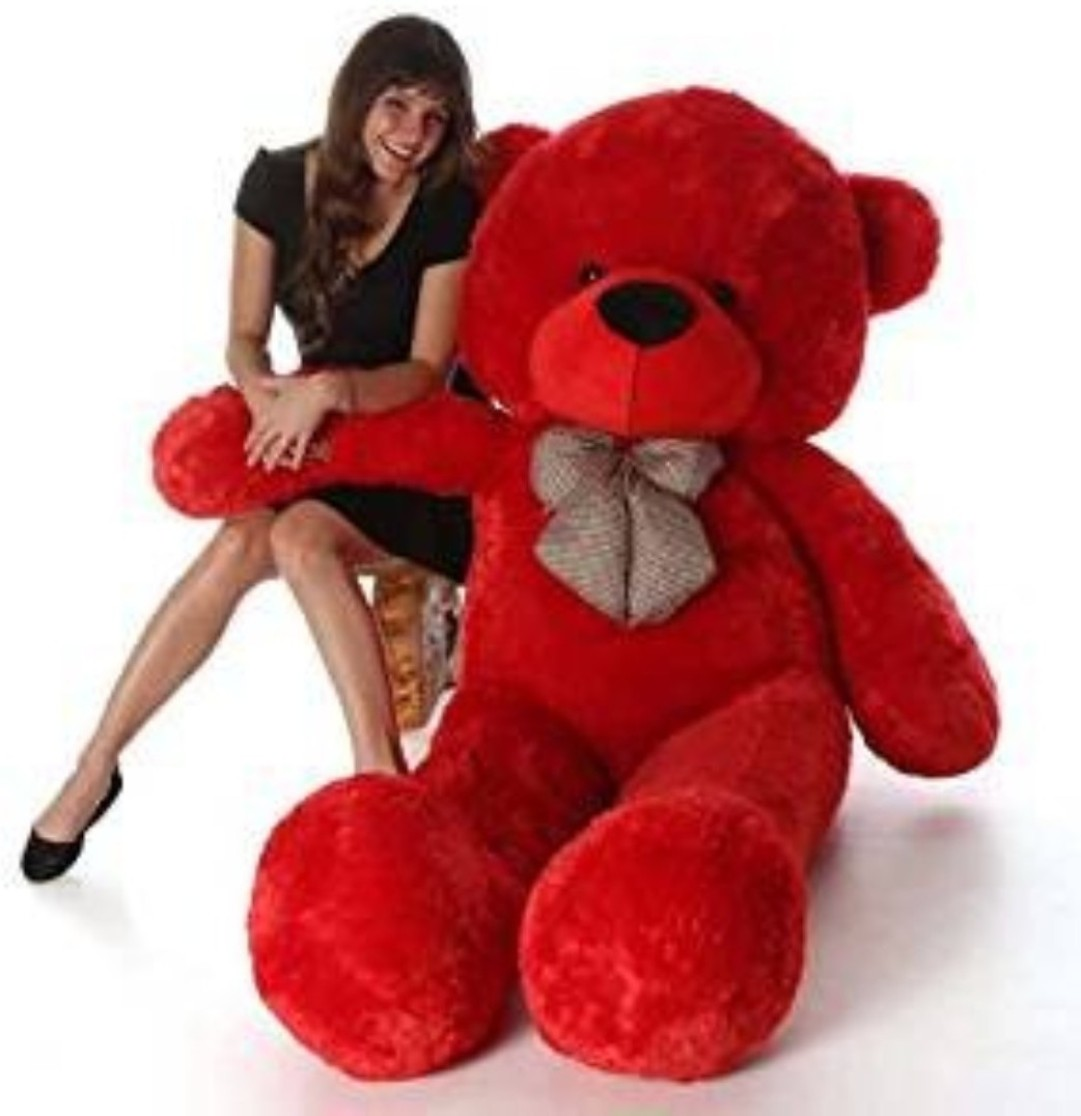 Mrbear Cute Bootsy Red 90 Cm 3 feet Huggable And Loveable For Someone Special Teddy Bear