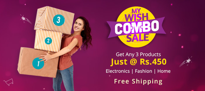 My Wish Combo Just @ Rs.450 + FREE Shipping + 10% SuperCash