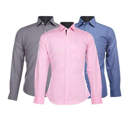 MyVishal - Buy 3 Formal Shirts Only For Rs.399 + Free Shipping