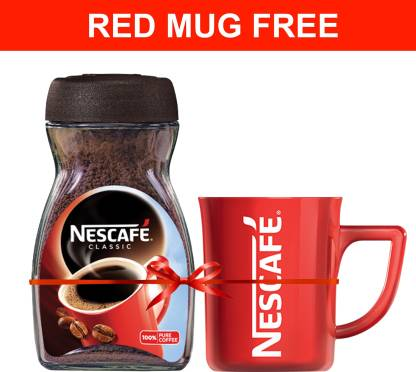 Nescafe with Red mug Instant Coffee + 500gms Sugar + 500gms Poha + 300ML Honey @ Rs.325