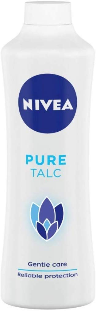 NIVEA Pure Talc, Mild Fragrance Powder, 400g