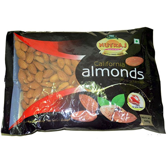 Nutraj California Almonds 500Gms @ Rs.357 After Cashback