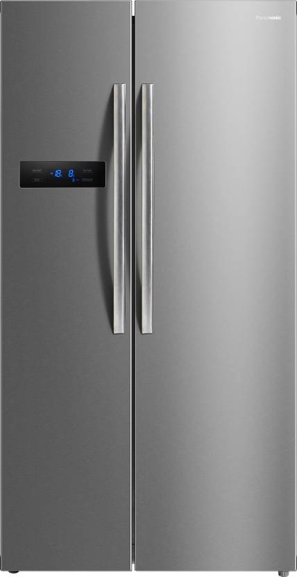 Panasonic 584 L Stainless Steel NR-BS60MSX1 Frost Free Side by Side Refrigerator