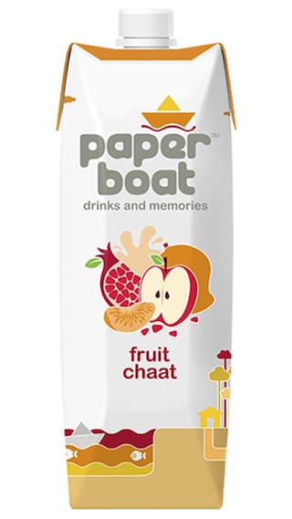 Paper Boat Fruit Chaat Juice 1L Pack Of 2