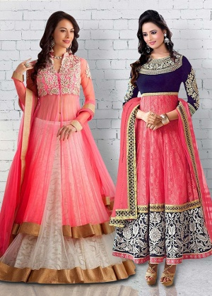 Party Collection: Lehenga Choli & Salwar Suit Combo By Surat Tex + 200 Loyalty Bonus