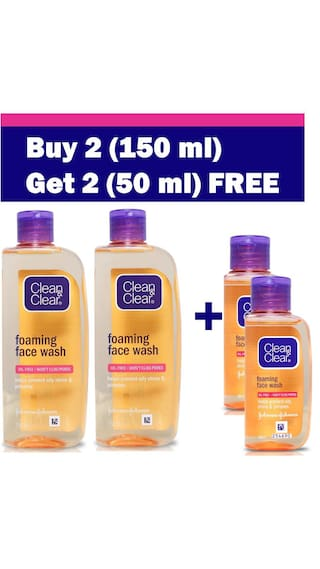 Paytm - Clean & Clear Face Wash 33% off + Buy 2 Get 1 Free + 35% or 40% Cashback