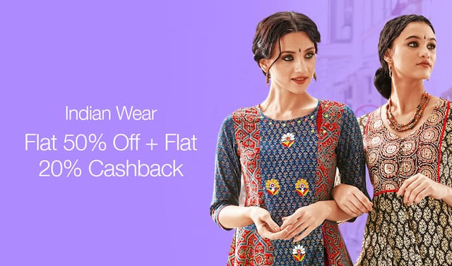 Paytm - RelianceTrends Flat 50% off + Extra 20% Discount