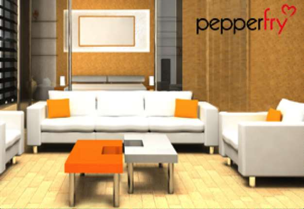 Pepperfry - Flat Rs.3500 Off on Rs.10,000