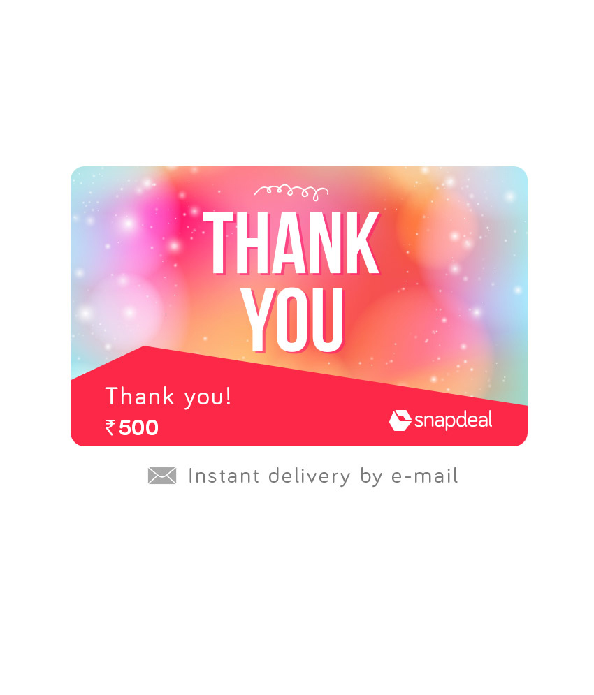 Snapdeal Email Gift Cards Cards 5% Off