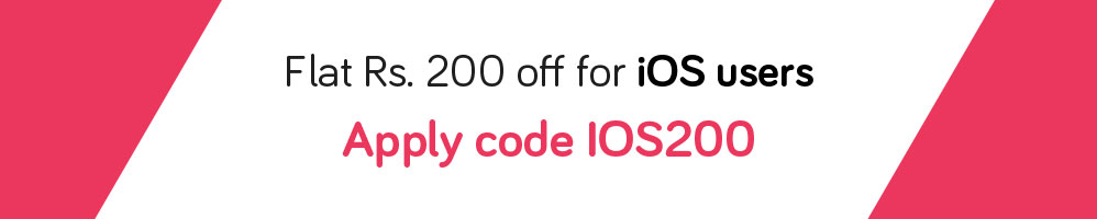 Snapdeal - Flat Rs.200 off on Rs.1000 (Valid for iOS Users)