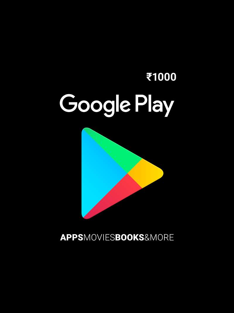 Snapdeal - Google Play Gift Card Worth Rs.1000 @ Only Rs.900