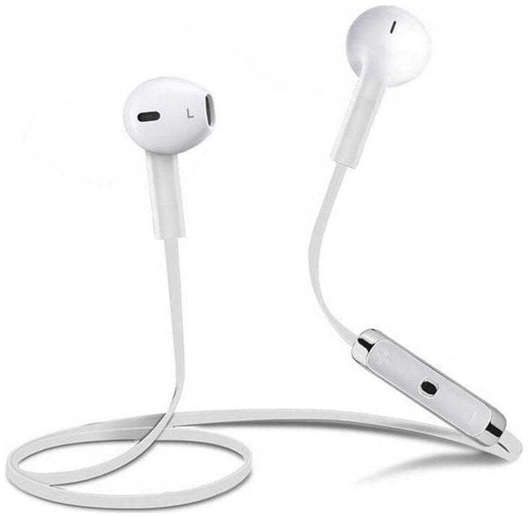 Sports Bluetooth Headset (White) @ Rs.70 With Free Shipping