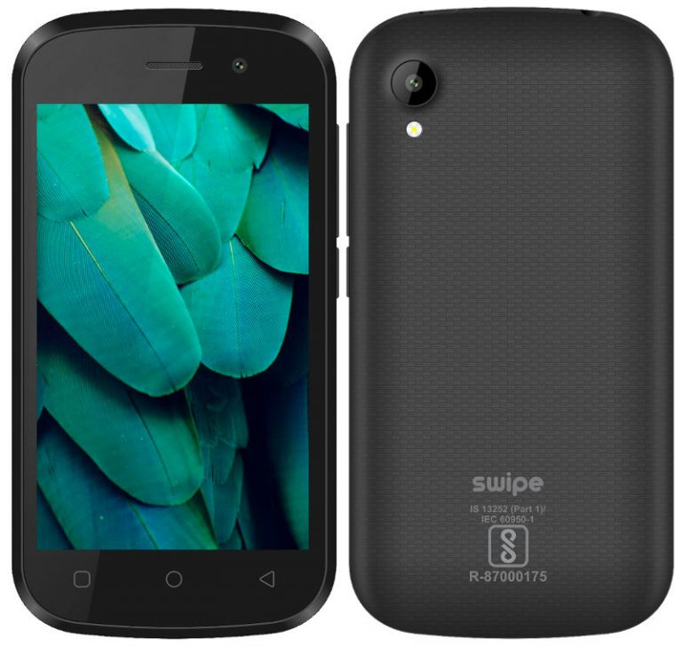 Swipe Konnect Neo 4G (512 MB, 4 GB, Black) Only For Rs.1599 After Cashback