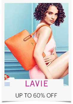 Paytm - Lavie Bags & Wallets Upto 60% Discount + 40% Cashback
