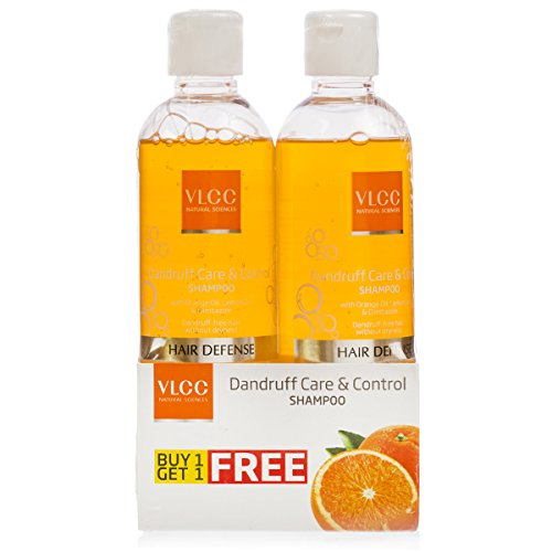 VLCC Dandruff Care and Control Shampoo, 700ml (Buy 1 Get 1 Free)