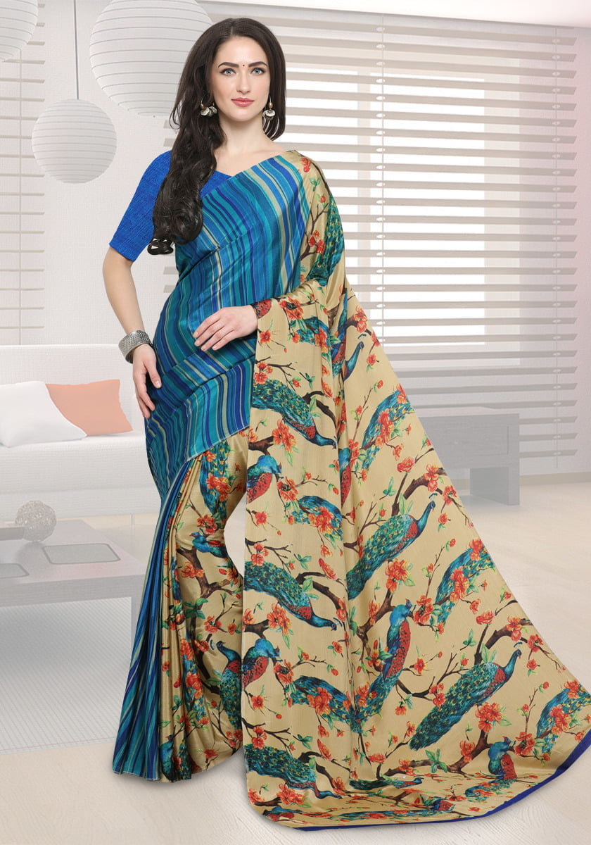 Voonik - Buy 2 Sarees Worth Rs.2998 @ Rs.899 Only