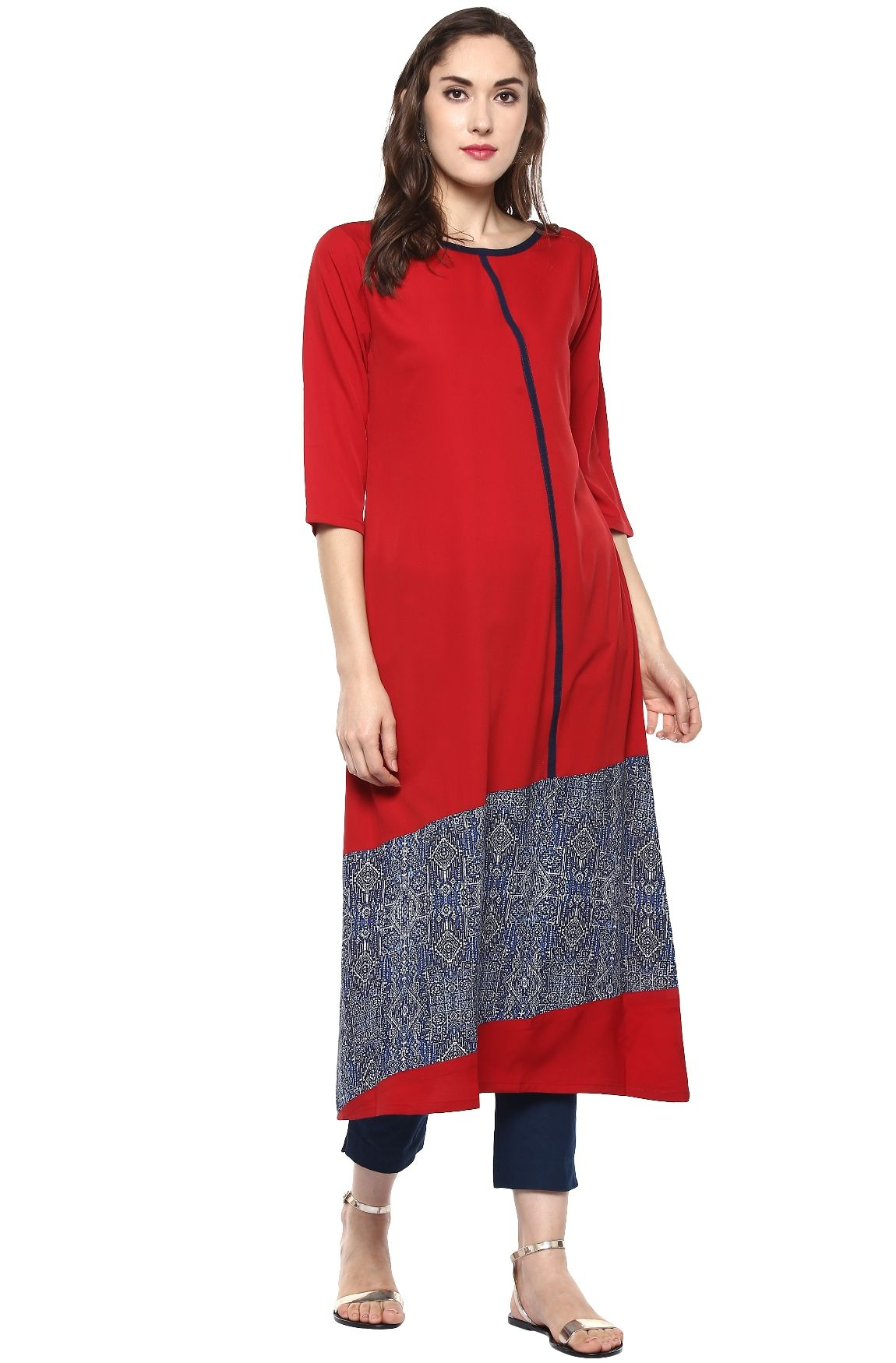 Voonik - Janasya Women's Kurti| Buy 3 at Rs.999