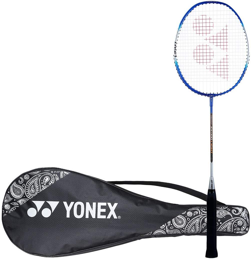 Yonex ZR 100L Aluminum Strung Badminton Racquet with Full Cover