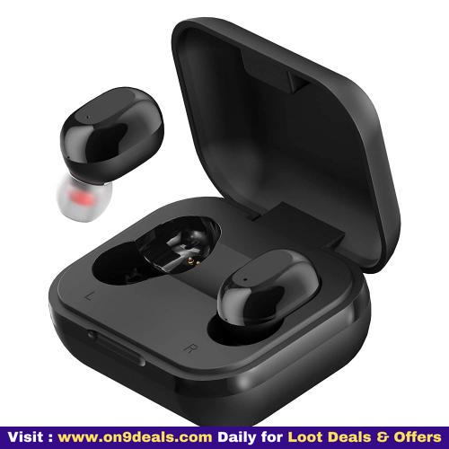 Ambrane NanoBuds True Wireless Earbuds with Immersive HD Sound Quality 14 Hours Battery