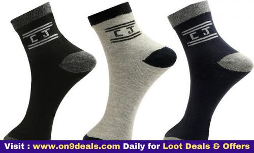 Calvinjones Pack Of 3 Ankle Socks Rs.49