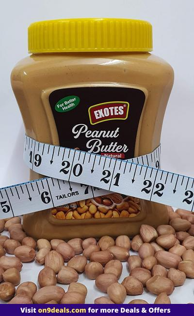 Exotes Premium Dry Fruits (Peanut Butter Honey Crunch), 1000 g